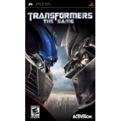 transformers the game sony psp 2 -