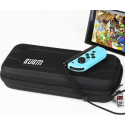 nintendo switch case bubm portable waterproof protective hard travel carry -