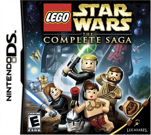lego star wars the complete saga nintendo ds -