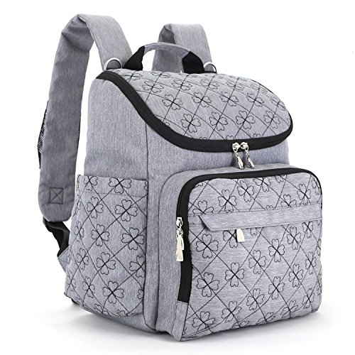 diaper bag backpack with baby stroller straps by hyblom stylish travel 1 -