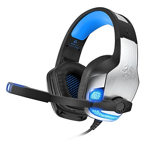 bengoo professional wired gaming headset with microphone for ps4 xbox one -