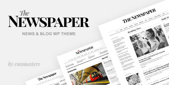 The Newspaper – News Magazine Editorial WordPress Theme
