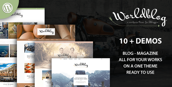 Worldblog – WordPress Blog and Magazine Theme