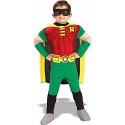 Deluxe Muscle Chest Robin Child Costume – Toddler