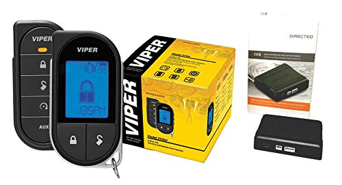 Viper 5706V 2-Way LCD Alarm & Remote Car Starter 1 Mile Range & Directed DB3 XPressKit DEI Databus ALL Combo Bypass / Door Lock Interface Bundle Package