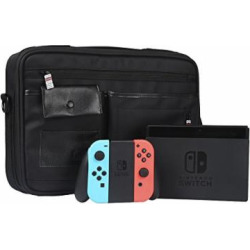 nintendo switch carrying case with handle protective travel case shell pouch 1 -