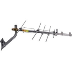 RCA Compact Outdoor Yagi HDTV Antenna with 70 Mile Range