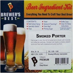 Smoked Porter Homebrew Beer Ingredient Kit by Brewer's Best