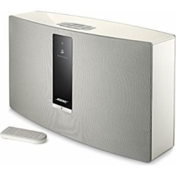 Bose SoundTouch 30 Series III Wireless Speaker – White, Compatible with Alexa