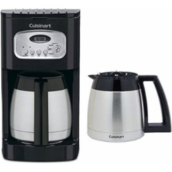Cuisinart DCC-1150BK 10-Cup Thermal Coffeemaker Black w/ Additional Carafe
