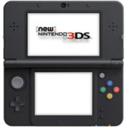 Used Nintendo New 3Ds System – Super Mario Black (Recharged Refurbished)