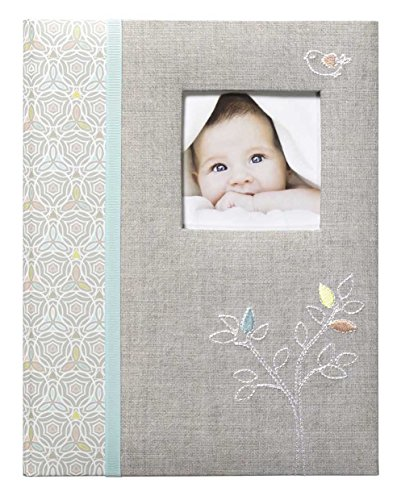 C.R. Gibson First 5 Years Memory Book, Record Memories and Milestones on 64 Beautifully Illustrated Pages – Linen Tree