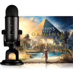 Blue Microphone Blackout Yeti w/ Assassin's Creed Origins Bundle