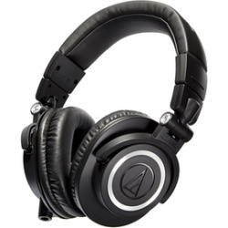 Audio-Technica ATH-M50x, ATH-M50xWH, and ATH-M50xMG Professional Studio Monitor Headphones
