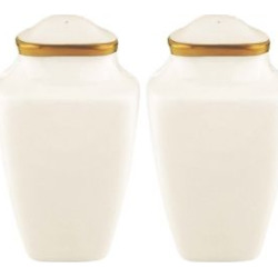lenox dinnerware eternal square salt and pepper shakers -