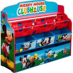 Deluxe Book & Toy Organizer Disney Mickey Mouse – Delta Children, Multi-Colored