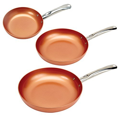 Copper Chef Round Pan 3 Pack 8/10/12″