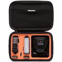 Dual Kit for Sony Action Camera, Black/Orange