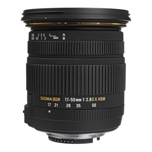 Sigma 17-50mm f/2.8 EX DC OS HSM FLD Large Aperture Standard Zoom Lens for Pentax Digital DSLR Camera