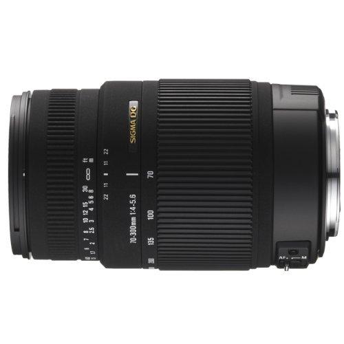 Sigma 70-300mm F/4-5.6 DG OS SLD Super Multi-Layer Coated Telephoto Lens for Pentax AF Mount Digital SLR Cameras