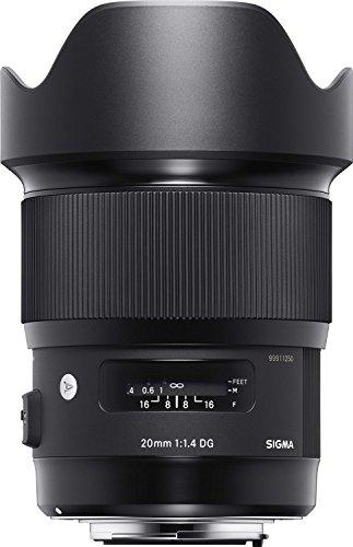 Sigma 20mm F1.4 DG HSM ART Lens for Canon EF (International Model) No Warranty