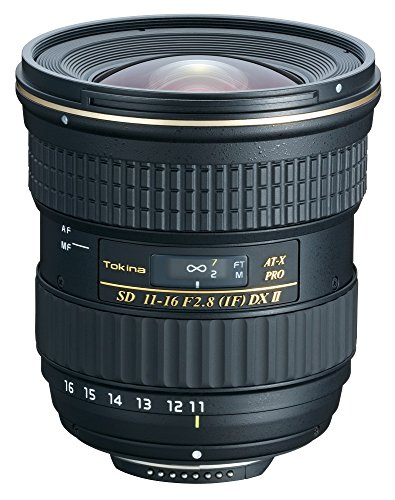 Tokina 11-16mm f/2.8 AT-X116 Pro DX II Digital Zoom Lens (AF-S Motor) (for Ni…
