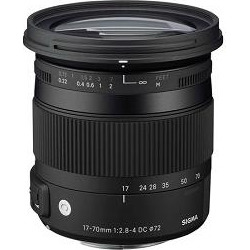 Sigma 17-70mm F2.8-4 DC Macro OS HSM Lens for Canon Mount Digital SLR Cameras