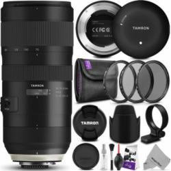 Tamron SP 70-200mm f/2.8 Di VC USD G2 Lens for Nikon F Cameras w/ Essential Photo Bundle