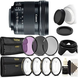 Canon EF-S 10-18mm f/4.5-5.6 IS STM Ultra Wide Angle Lens for Canon