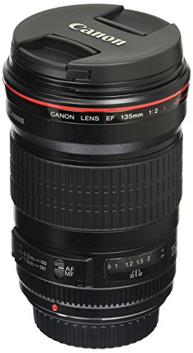 Canon EF 135mm f/2L USM Lens for Canon SLR Cameras – Fixed