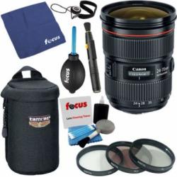 Canon EF 24-70mm f/2.8L II USM Standard Zoom Lens w/ Accessory Bundle