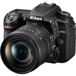 Nikon – AF-S DX NIKKOR 16-80mm f/2.8-4E ED VR Standard Zoom Lens – Black
