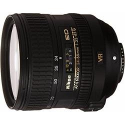 NIKON 24-85mm F/3.5-4.5G ED VR AF-S Nikkor Lens – White Box (New) (Bulk Packaging)
