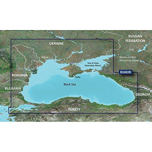 Garmin BlueChart® g2 – HXRU002R – Black Sea & Azov Sea – microSD™/SD™