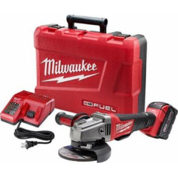Milwaukee Electric Tool 2780-21 M18 18V Grinder, 4-1/2 by Milwaukee Electric Tool