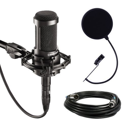 audio technica at2035 large diaphragm studio condenser microphone bundle with - Allshopathome-Best Price Comparison Website,Compare Prices & Save