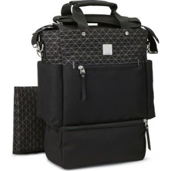 Ergobaby Carry On Tote Diaper Bag, Black