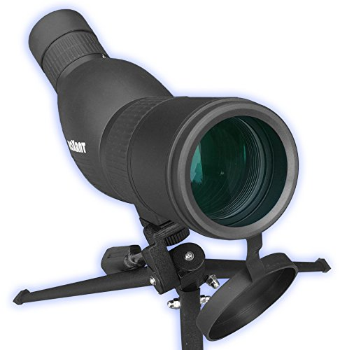 Roxant Authentic Blackbird High Definition Spotting Scope With ZOOM – Fully Multi Coated Optical Glass Lens + BAK4 Prism. Includes Tripod + Case + Lifetime Support