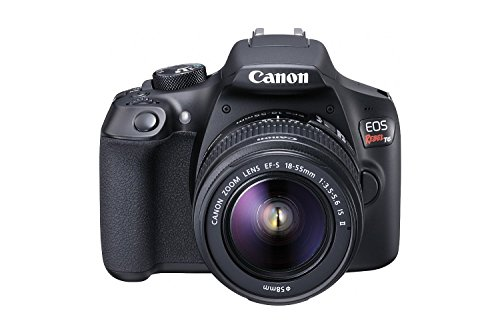 Canon EOS Rebel T6 Digital SLR Camera Kit with EF-S 18-55mm f/3.5-5.6 IS II Lens, Built-in WiFi and NFC – Black (Certified Refurbished)