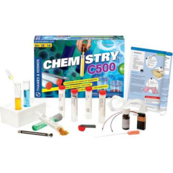 Thames & Kosmos Chemistry C500 Experiment Kit, Multicolor