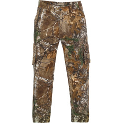 Men's Realtree Earthletics Modern-Fit Camo Cargo Pants, Size: 40X32, Brown Over