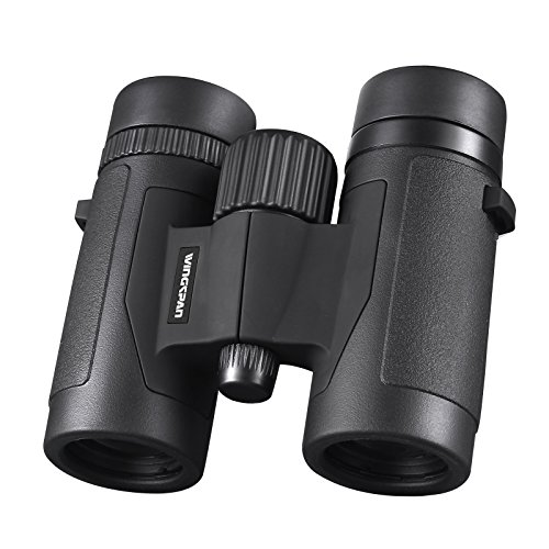 Wingspan Optics Spectator 8X32 Compact Binoculars for Bird Watching. Lightweight and Compact for Hours of Bright, Clear Bird Watching. Also for Outdoor Sports Games and Concerts