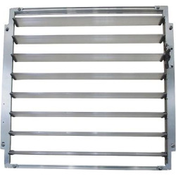 Louvre Window For Greenhouses – Silver – Palram