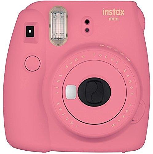 Fujifilm Instax Mini 9 Instant Camera – Flamingo Pink
