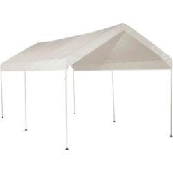 3-Rib Frame 10′ x 20′ White Cover – Shelter Logic