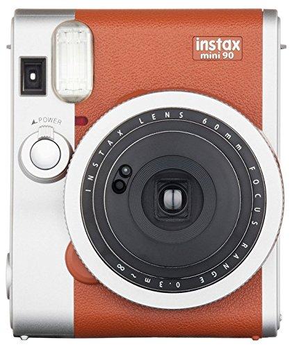 fujifilm instax mini 90 instant film camera brown - Allshopathome-Best Price Comparison Website,Compare Prices & Save
