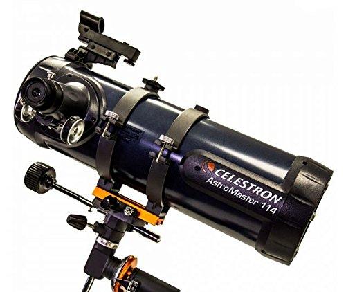 Celestron AstroMaster 114EQ Telescope w/ Motor Drive 31042-OP-DS