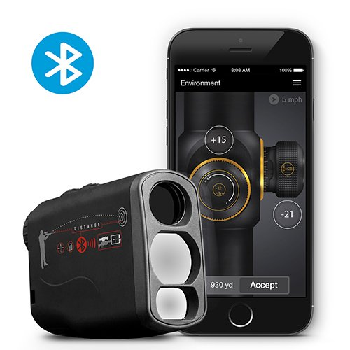 ATN Laser Ballistics 1000 Smart Laser Rangefinder w/Bluetooth, device works with Mil and MOA scopes using ATN Ballistic Calculator App