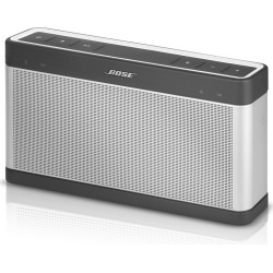 Bose Soundlink Bluetooth Speaker III – Silver / Gray (Refurbished)