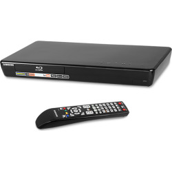 Samsung BD-P3600 Blu-Ray Disc Player w/ LAN Adapter & Original Remote (Scratch 'n' Dent)